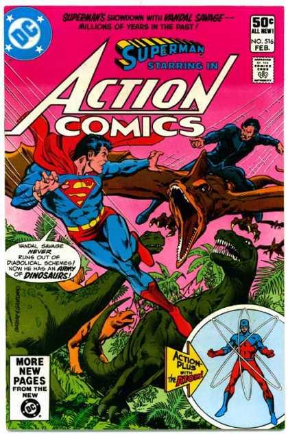 Action Comics #516, комікси про супермена, історія коміксів, история комиксов