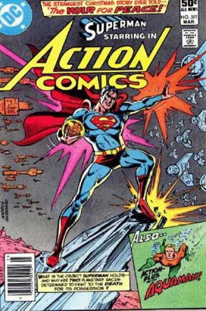 Action Comics #517, комікси про супермена, історія коміксів, история комиксов