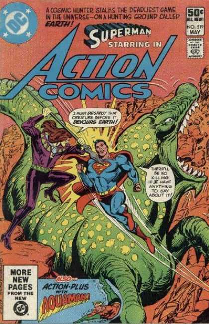 Action Comics #519, комікси про супермена, історія коміксів, история комиксов