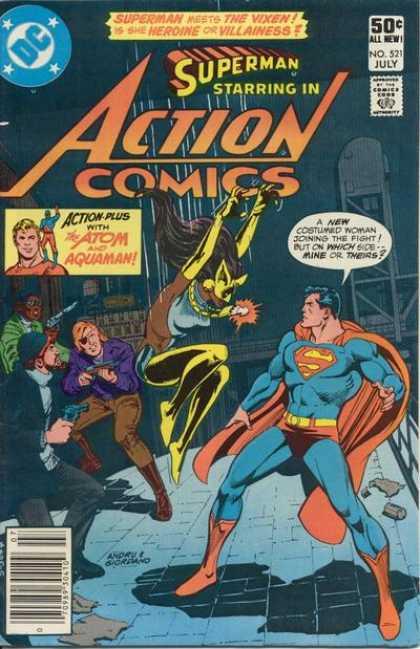 Action Comics #521,комікси про супермена, історія коміксів, история комиксов
