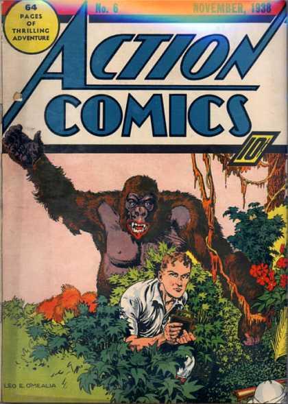 Action Comics #6, історія коміксів укранїнською, история комиксов