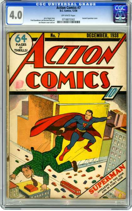Action Comics #7, історія коміксів укранїнською, история комиксов