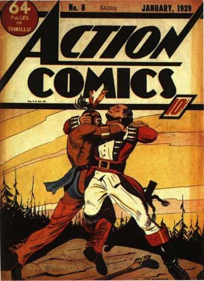 Action Comics #8, історія коміксів укранїнською, история комиксов