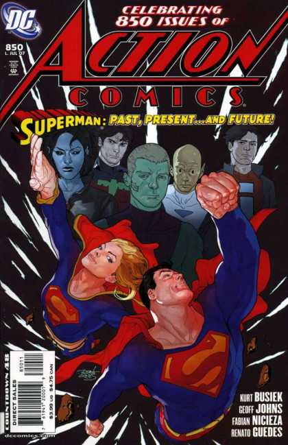 Action Comics #850, історія коміксів, історія DC, action comics