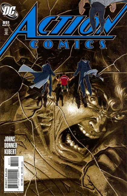 Action Comics #851, історія коміксів, історія DC, action comics
