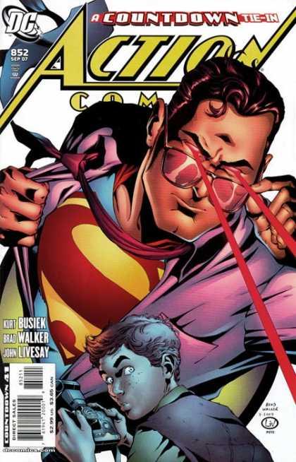 Action Comics #852, історія коміксів, історія DC, action comics