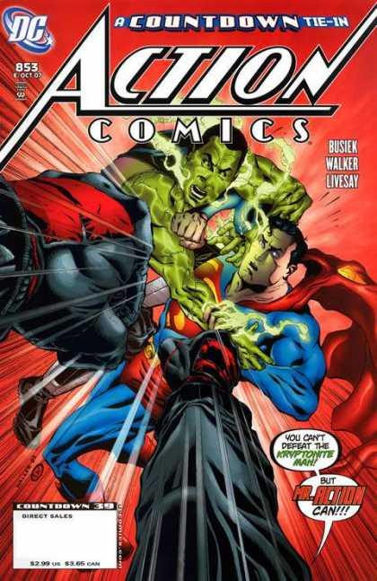 Action Comics #853, історія коміксів, історія DC, action comics