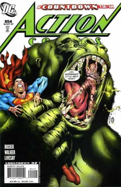 Action Comics #854, історія коміксів, історія DC, action comics
