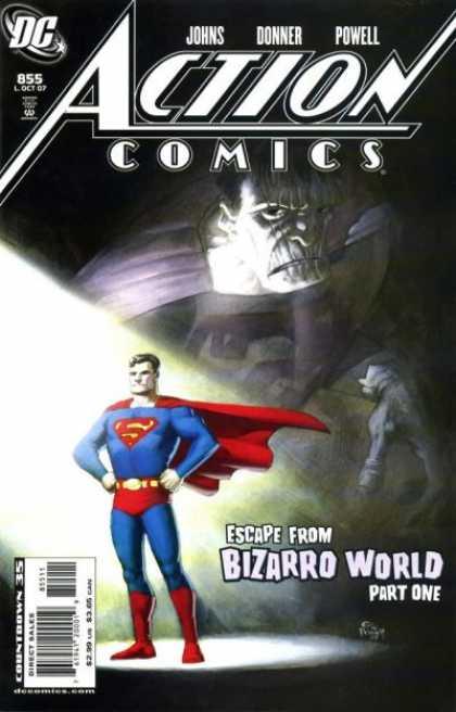 Action Comics #855, історія коміксів, історія DC, action comics
