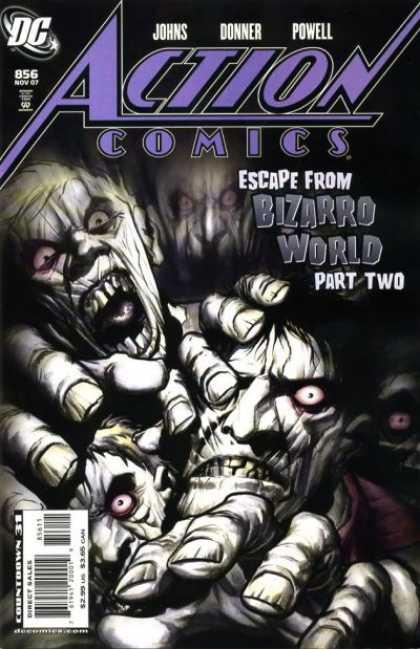 Action Comics #856, історія коміксів, історія DC, action comics