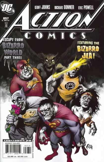 Action Comics #857, історія коміксів, історія DC, action comics