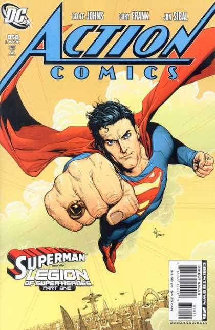 Action Comics #858, історія коміксів, історія DC, action comics