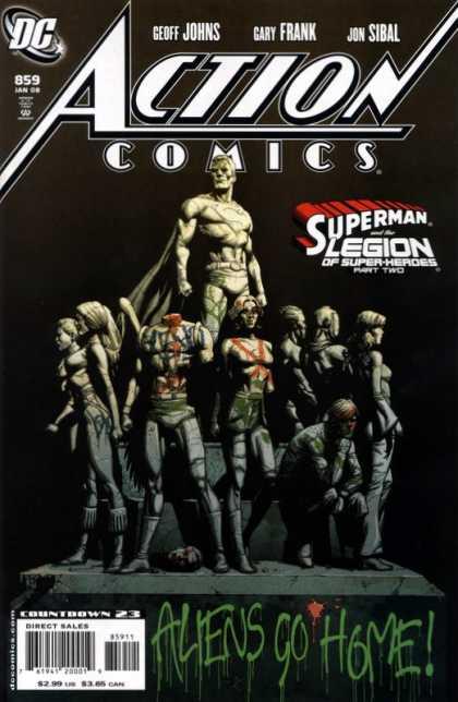 Action Comics #859, історія коміксів, історія DC, action comics