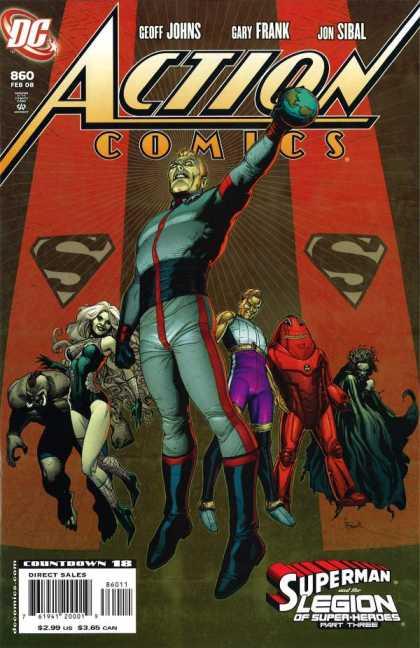 Action Comics #860, історія коміксів, історія DC, action comics