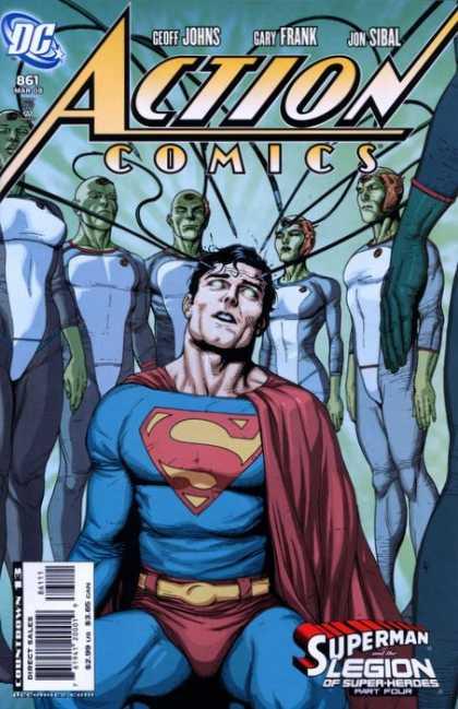 Action Comics #861, комікси про супермена, історія коміксів, история комиксов