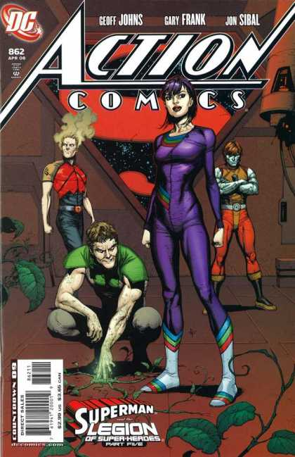 Action Comics #862, комікси про супермена, історія коміксів, история комиксов