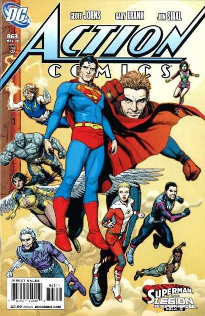 Action Comics #863, комікси про супермена, історія коміксів, история комиксов