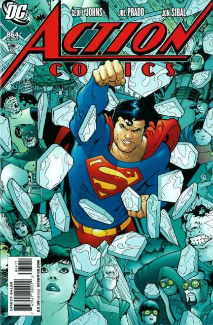 Action Comics #864, комікси про супермена, історія коміксів, история комиксов