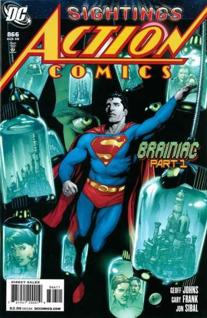 Action Comics #866, історія супермена, комікси ДС, комукси українською