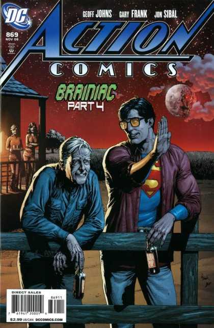 Action Comics #869, історія супермена, комікси ДС, комукси українською