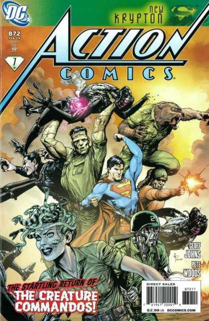 Action Comics #872, історія супермена, комікси ДС, комукси українською