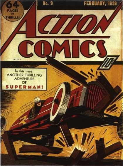 Action Comics #9, історія коміксів укранїнською, история комиксов