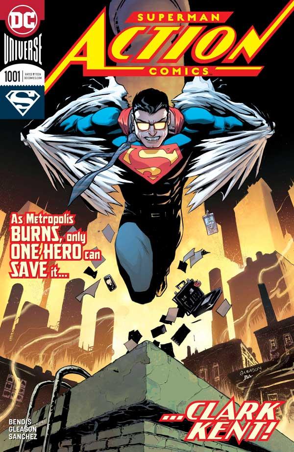 Action Comics Vol 1001, комікси супермен, DC comics