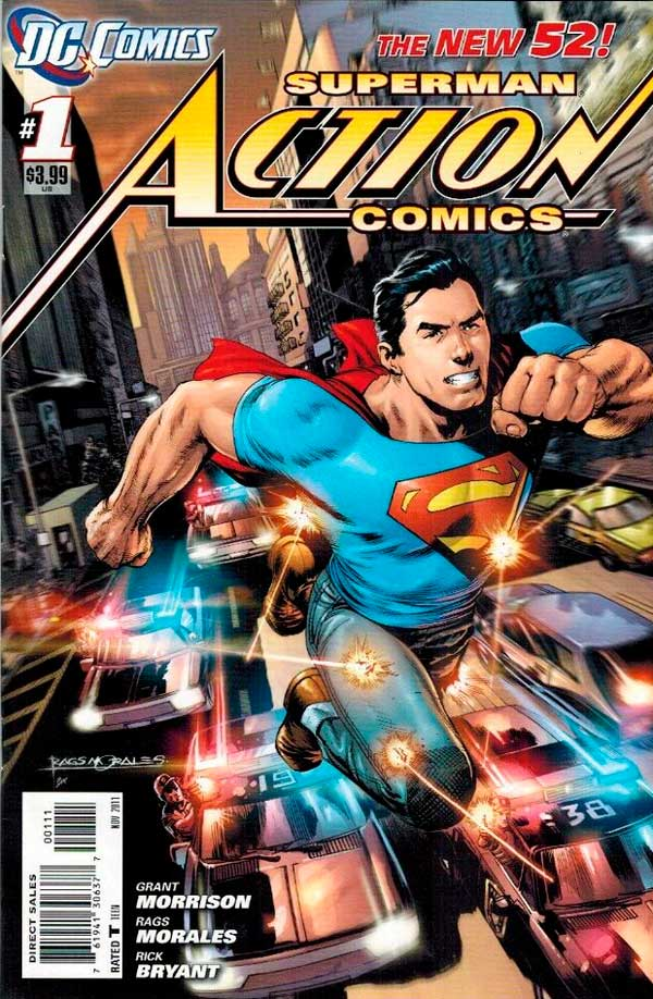 Action Comics Vol2 1 New52, Superman, комікси Супермен