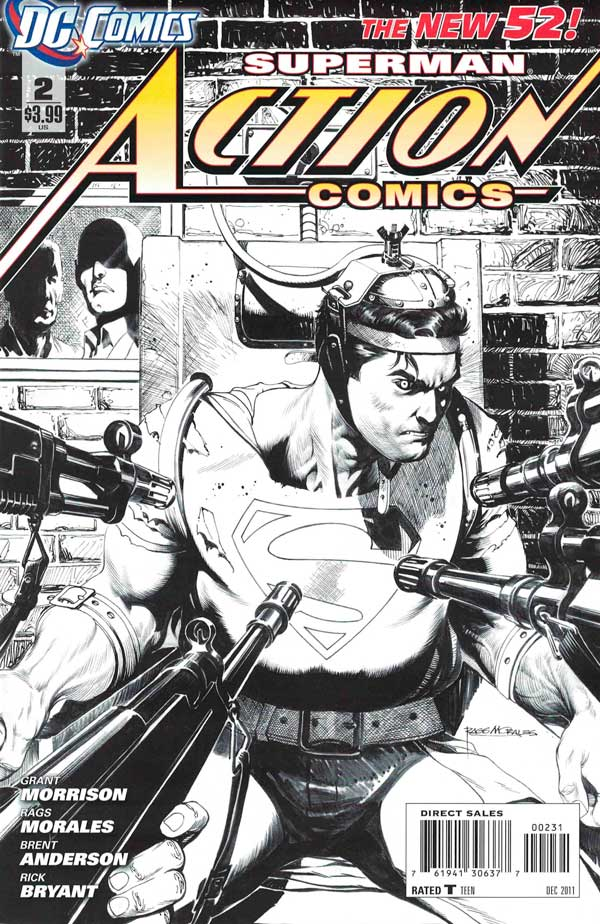 Action Comics Vol2 2 New52, комікси про супермена, читати комікси
