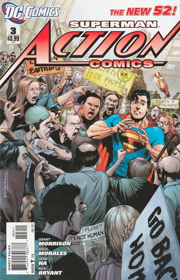 Action Comics Vol2 3 New52, комікси про супермена, читати комікси, комікси марвел