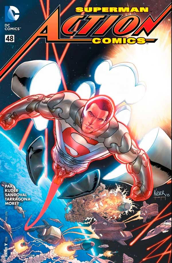 ActionComics Vol 2 48, комікси про супермена, комікси дс