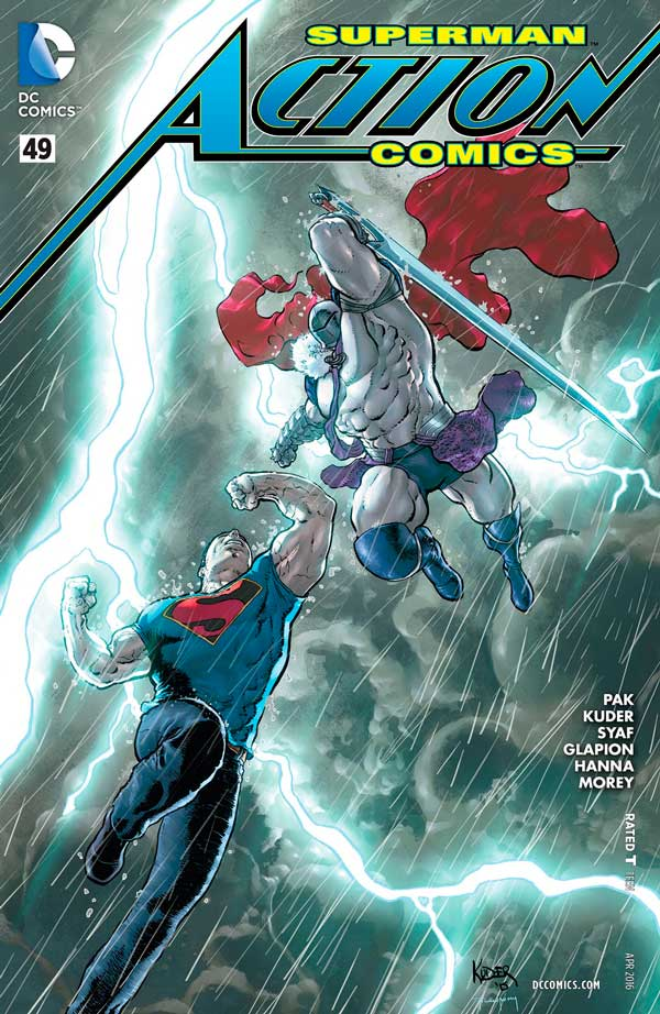 Action Comics Vol 2 49, комікси марвел, комікси про супермена