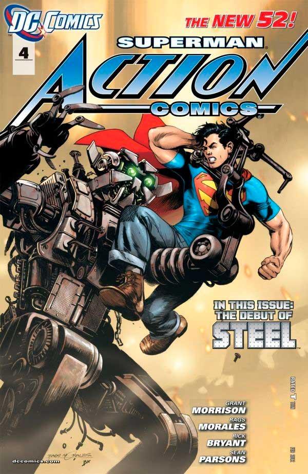 Action Comics Vol2 4 New52, комікси марвел, читати коміси, комікси про супермена