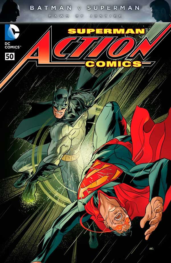 Action Comics Vol 2 50, комікси пр осупермена, людина зі сталі