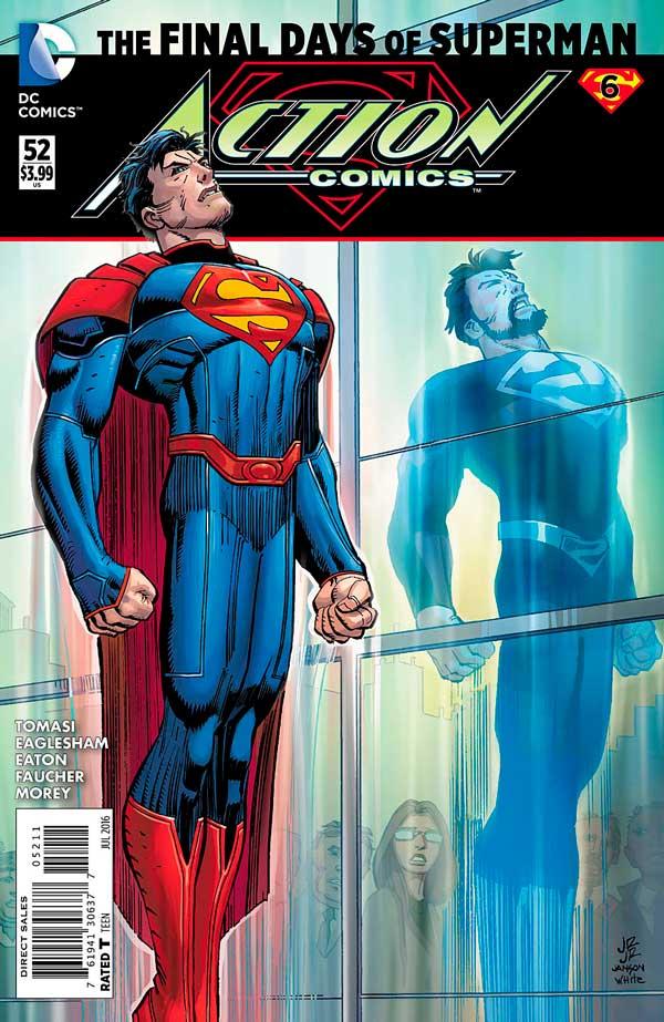 Action Comics Vol 2 52, комікси українською, комікси людина зі сталі
