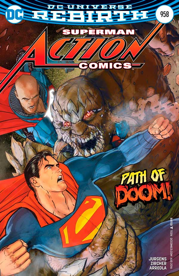 Action Comics Vol 2 958, комікси DC, superman