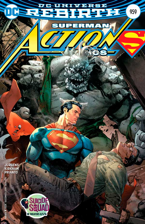 Action Comics Vol 2 959, комі