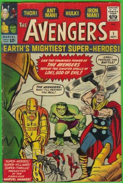Avengers #1, комікси про Месників, Мстители, Залізна людина