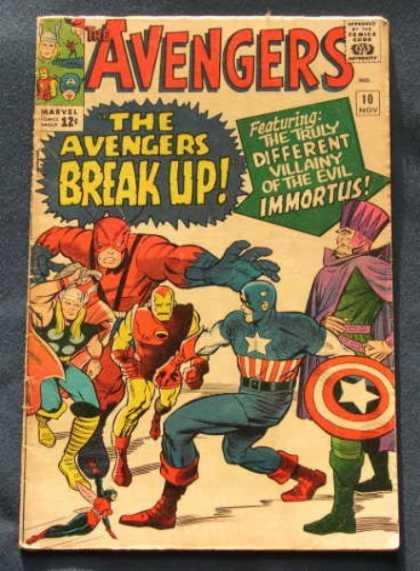 Avengers #10, Месники, Капітан Америка, комікси Марвел