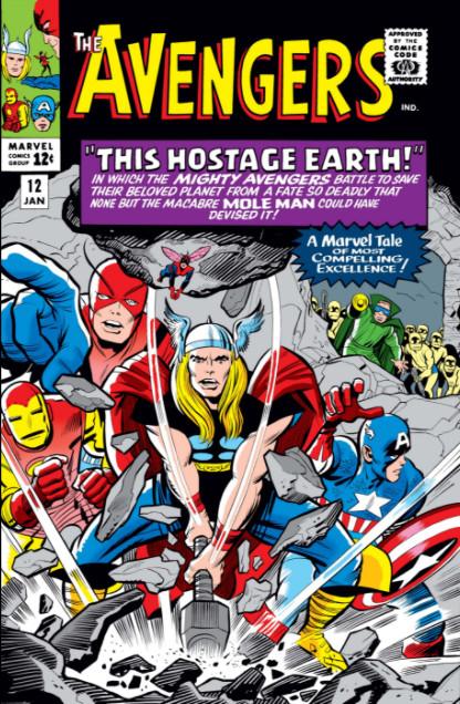 Avengers #12, комікси марвел, читати комікси українською, комікси про месників