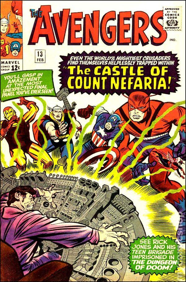 Avengers #13, коміксми марвел, комікси про месників, мстители