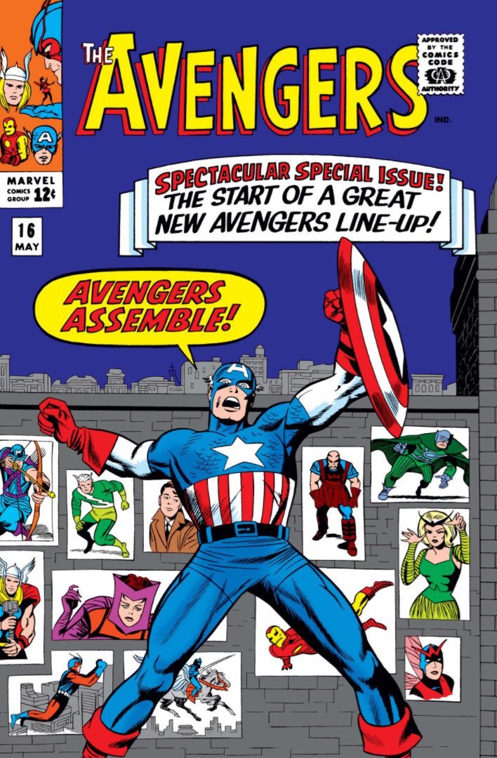 Avengers #16, месники, комікси про месників, комікси марвел