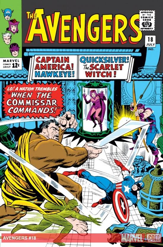 Avengers #18, комікси марвел, читати комікси,