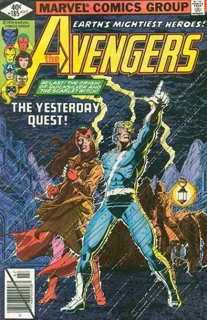 Avengers #185, Месники, комікси про месників,