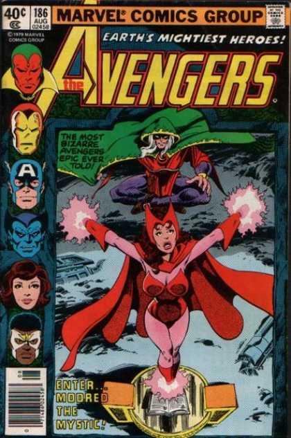 Avengers #186, месники, комікси про месників, марвел