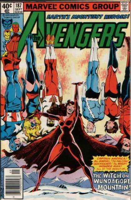 Avengers #187, комікси про месників, комікси марвел