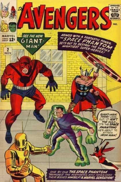 Avengers #2, комікси про Месників, Мстители, Залізна людина
