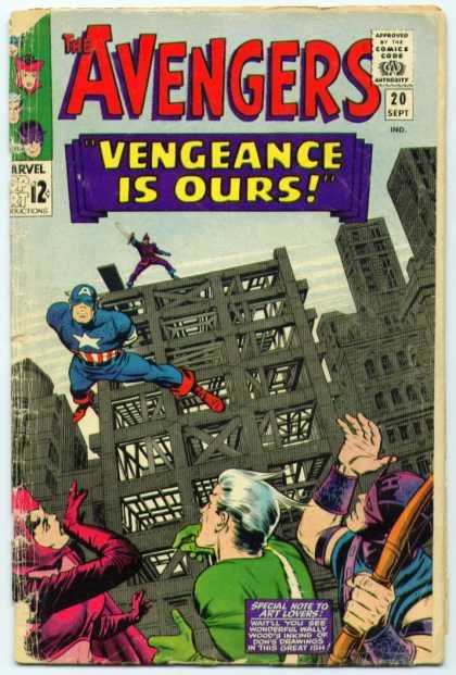 Avengers #20, комікси Месники, Мстители комикс