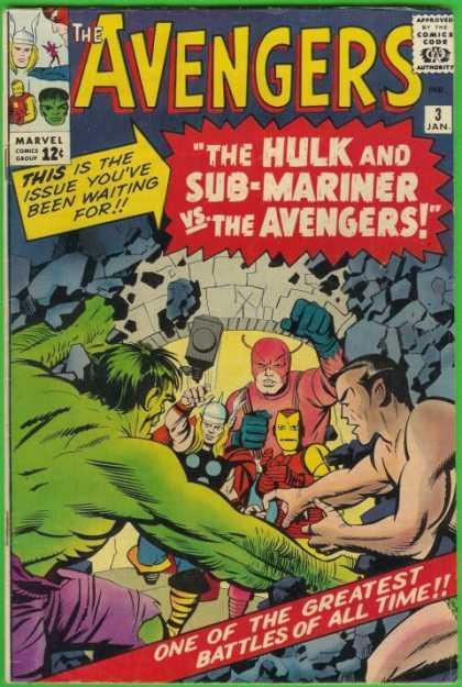 Avengers #3, комікси про Месників, Мстители, Залізна людина