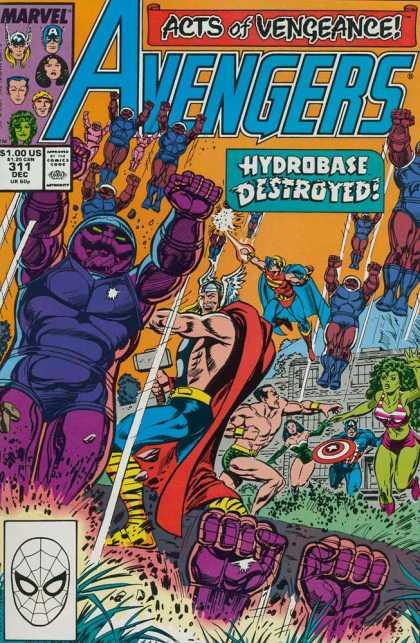 Avengers #311, комікси про Месників, Мстители
